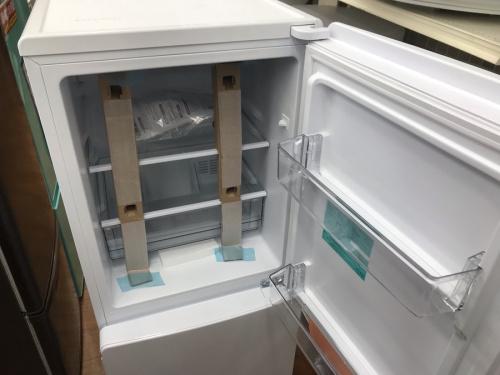 未使用品の2ドア冷蔵庫