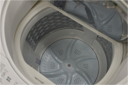縦型洗濯乾燥機のTOSHIBA