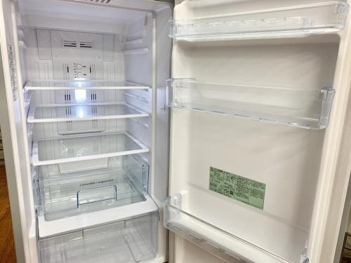 2ドア冷蔵庫のHITACHI