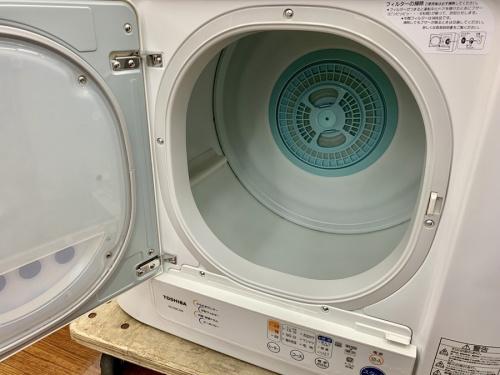 衣類乾燥機のTOSHIBA