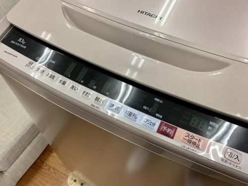 簡易乾燥機能付洗濯機のHITACHI