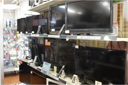 黒モノ家電のテレビ