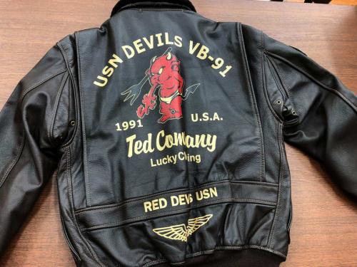 テッドマンのG-1ジャケット