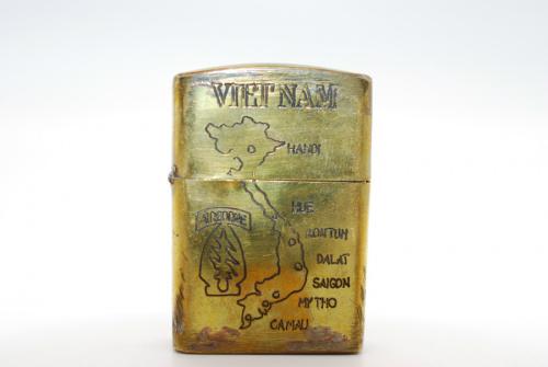 オイルライターのベトナムZIPPO