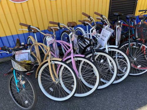 自転車の新生活