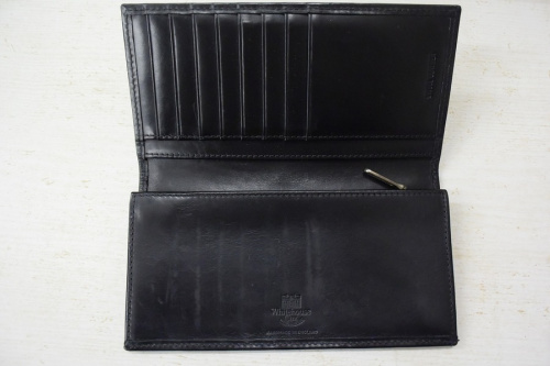 長財布のブライドルレザー