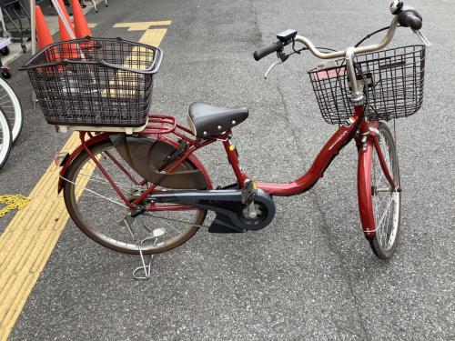 電動自転車の電動アシスト自転車