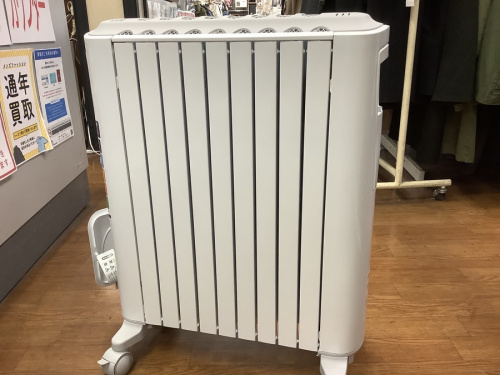 オイルヒーターの暖房器具