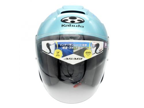 ヘルメットのオープンフェイス