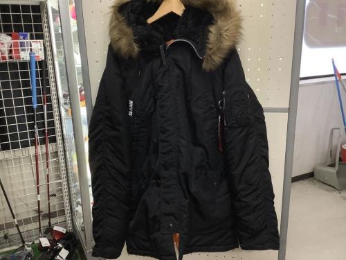 ALPHA×X-LARGEのコート