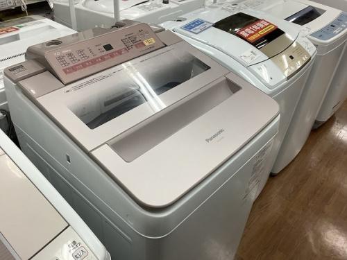 生活家電の洗濯機 パナソニック