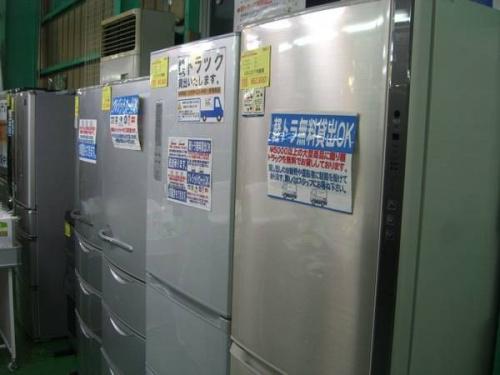 草加家電の冷蔵庫