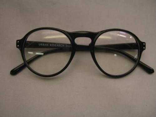 メンズファッションのメガネ