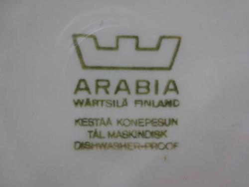 ARABIAのティーポット