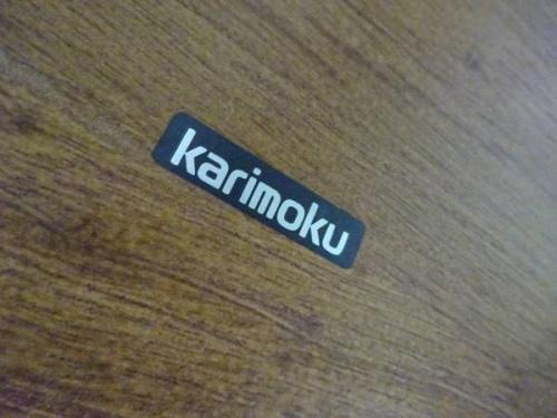 ダイニングセットのkarimoku