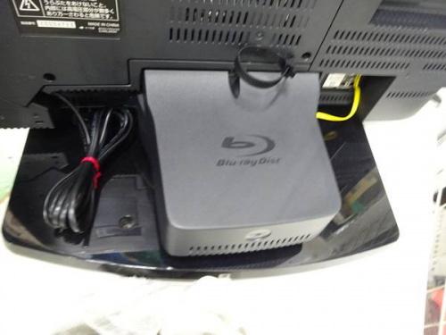 液晶テレビの内蔵HDD