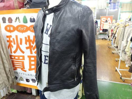 メンズファッションのライダースジャケット