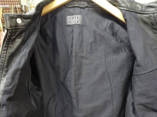 ライダースジャケットのblue work