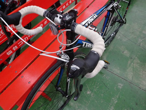 ロードバイクのTREK