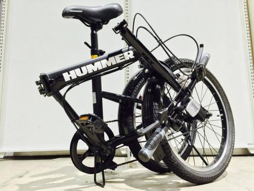 HUMMERの自転車