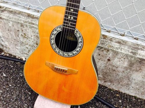 アコースティックギターのovation