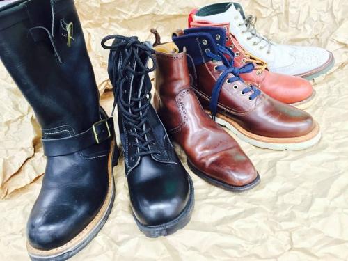 ブーツの秋