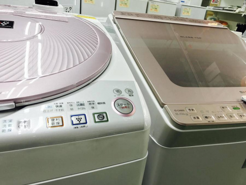 生活家電・家事家電の洗濯機