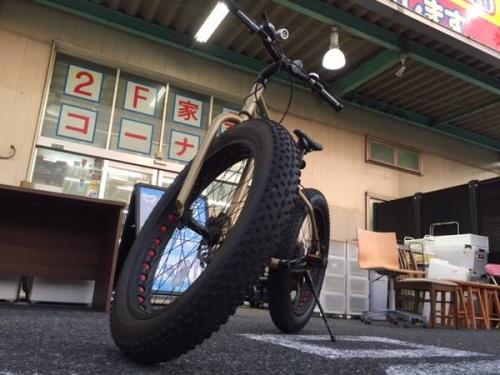 スポーツ・アウトドアのファットバイク