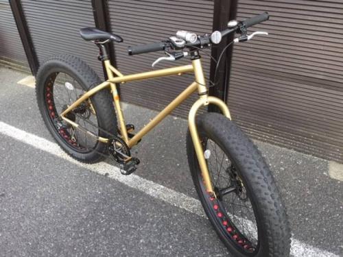 ファットバイクの自転車