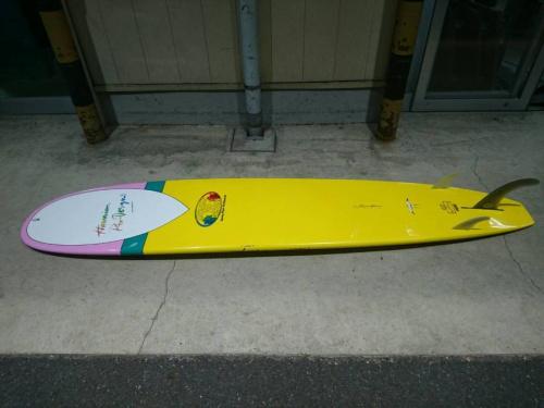 ロングボードのサーフィン