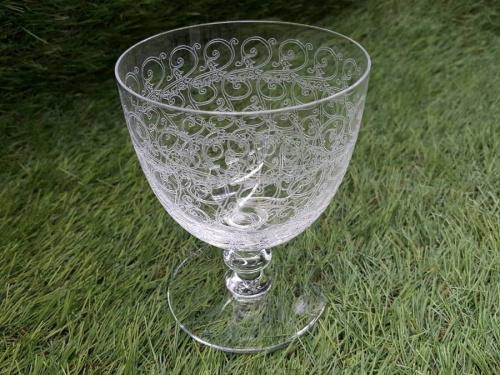 バカラのワイングラス