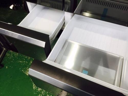 6ドア冷蔵庫の白物家電