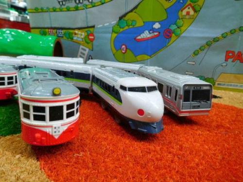 プラレールの電車