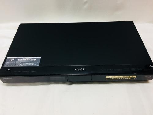 Blu-rayレコーダーのSHARP