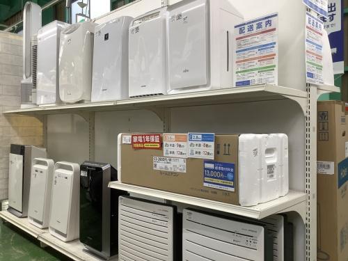 空気清浄機の新生活