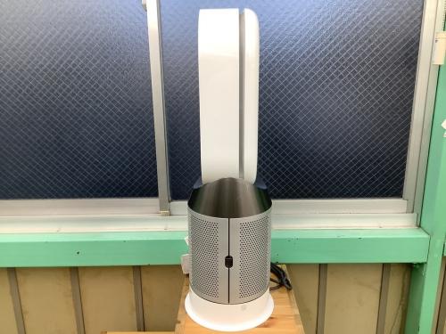 扇風機の空気清浄機能付ファンヒーター