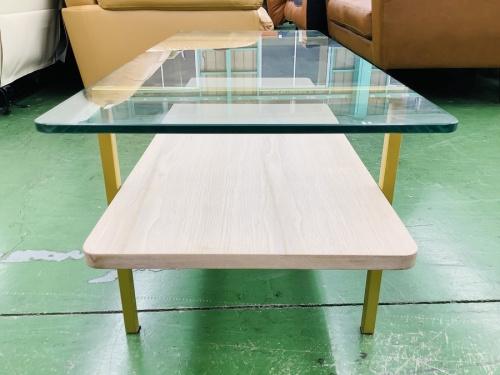 ガラストップコーヒーテーブルのFranc Franc