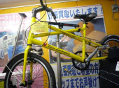 中古自転車のシティサイクル
