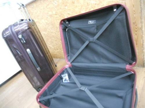 スーツケースの買取強化