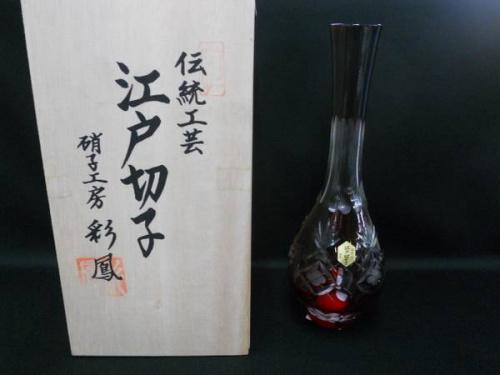 伝統工芸の江戸切子