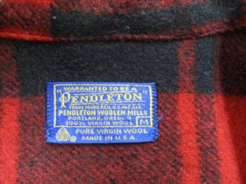 ジャケットのペンドルトン