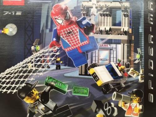 LEGOのスパイダーマン