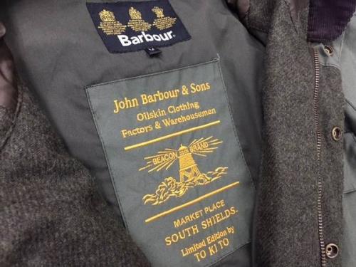 ジャケットのバブァー(Barbour)
