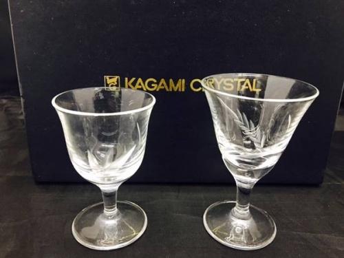 和食器のKAGAMI CRYSTAL
