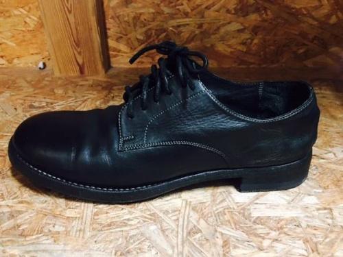 ブーツのレザー