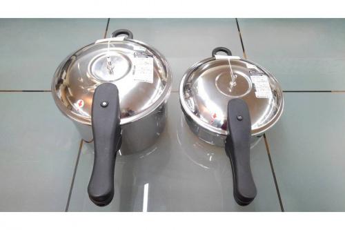 料理の圧力鍋