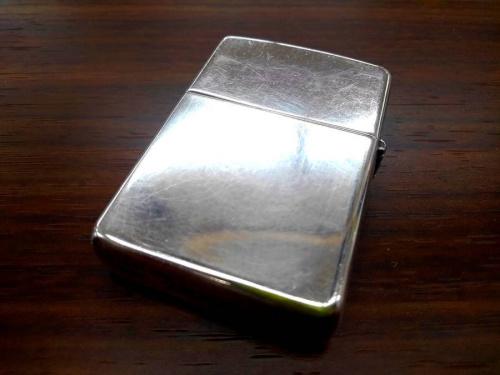 オイルライターの純銀
