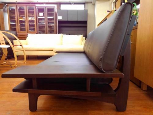 3人掛けソファの飛騨家具