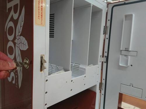 自動販売機のミニ冷蔵庫