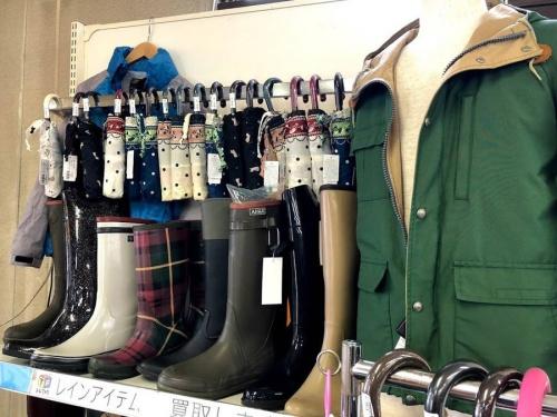 レインコートの傘